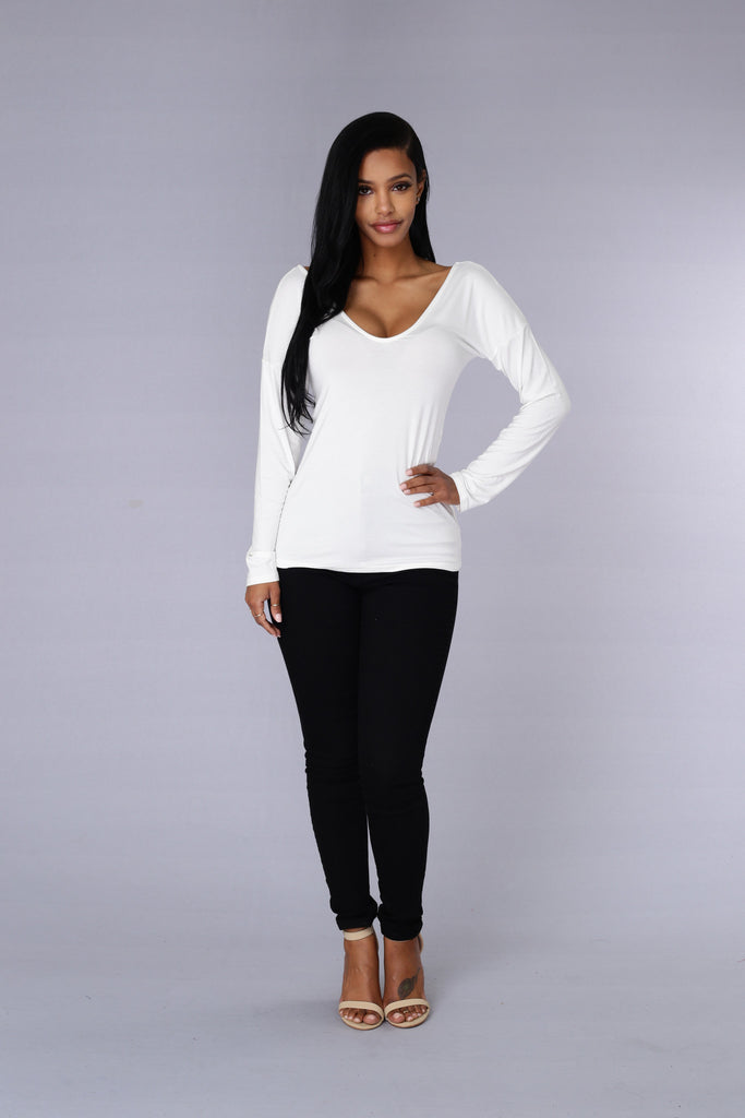 Serendipity Top - Ivory