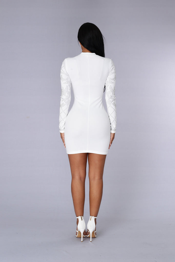 Royalty Dress - White
