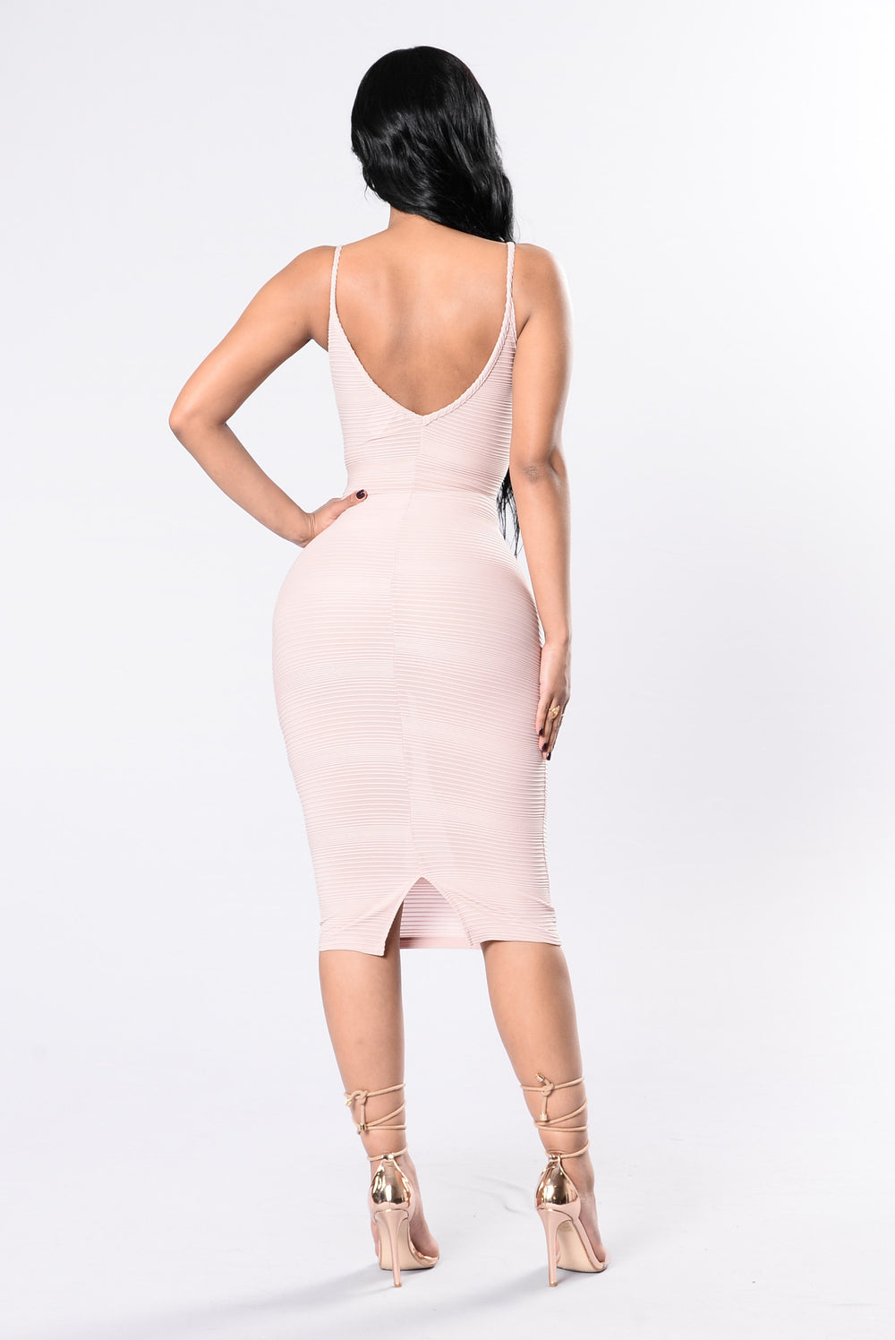 Take Me Out Tonight Dress - Mauve
