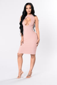 Love We Can Devour Dress - Mauve