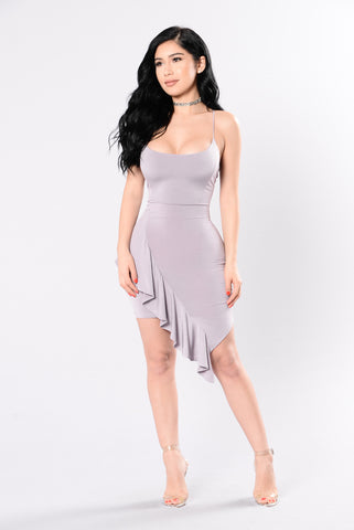 Adored By You Dress - Violet