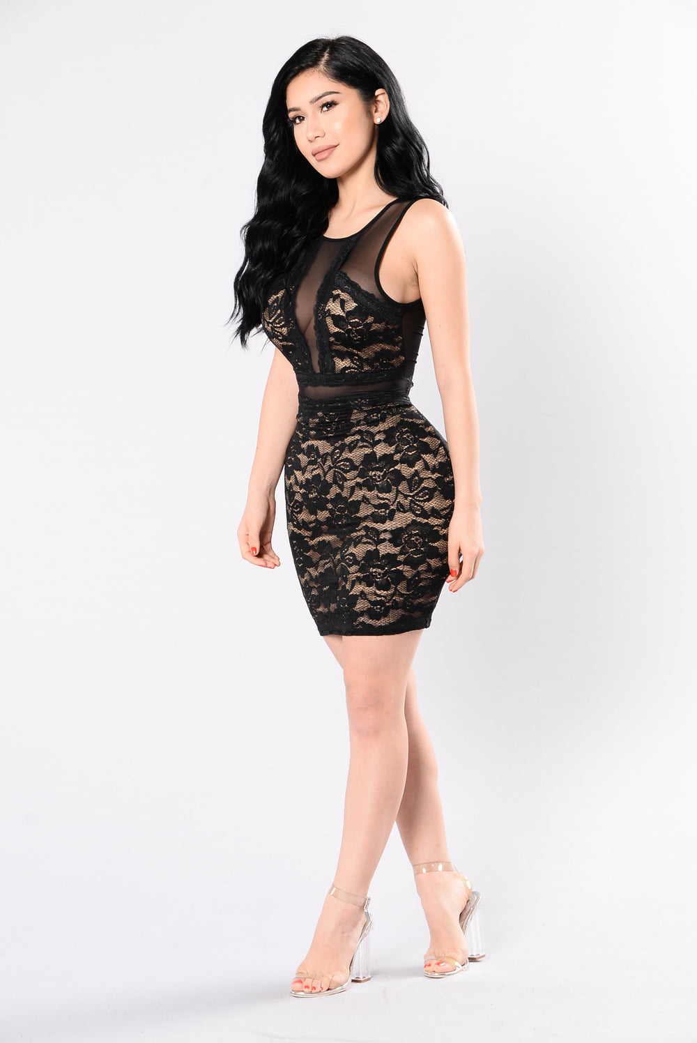 Fancy This Dress - Black