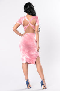 Moments Of Clarity Dress - Pink