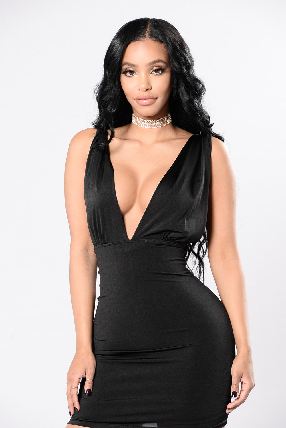 Wildest Moments Dress - Black