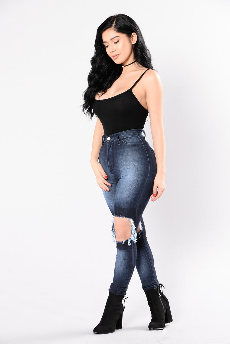 Queen Of The Game Bodysuit - Black