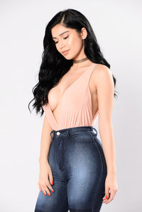 More Than A Feeling Bodysuit - Blush Nude