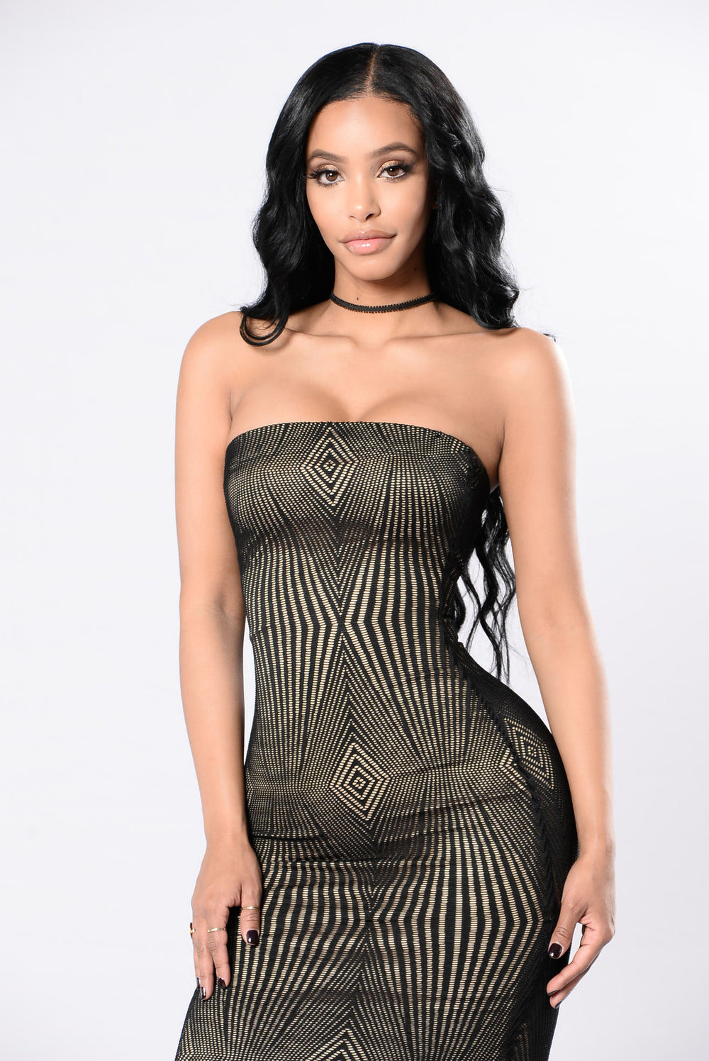 Give Me That Rush Dress - Black