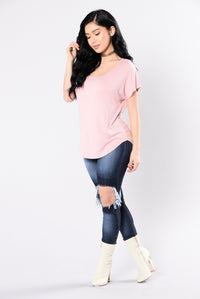 Brandy's Girl Top - Light Pink