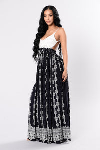Cannes Maxi Dress - Navy
