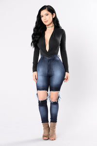 My Loving Needs A Home Bodysuit - Black Angle 4