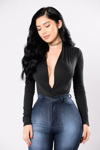My Loving Needs A Home Bodysuit - Black Angle 1