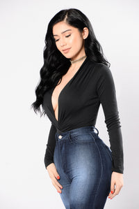 My Loving Needs A Home Bodysuit - Black Angle 3