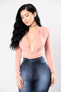 My Loving Needs A Home Bodysuit - Soft Salmon