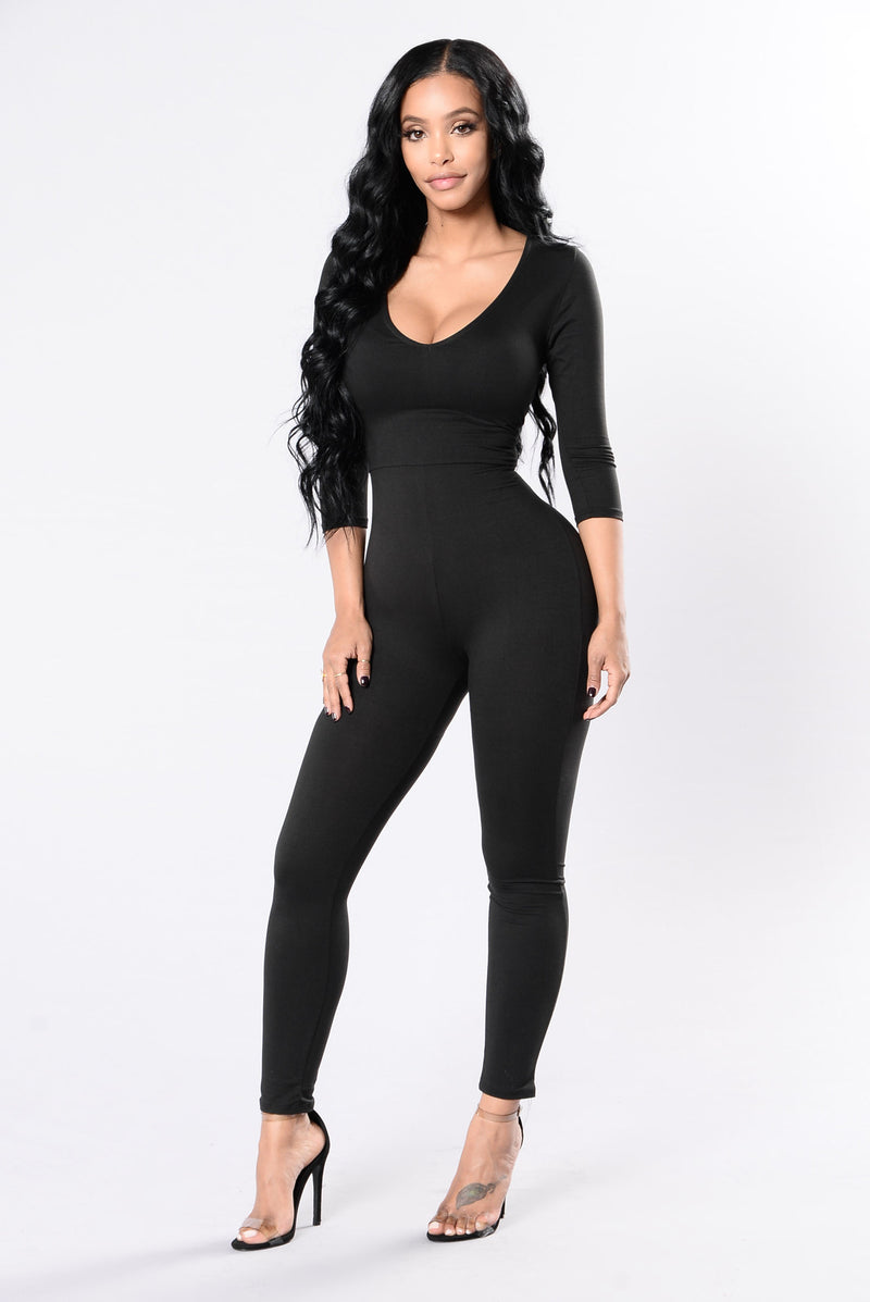 Body And Soul Jumpsuit - Black