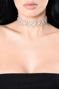 See The Point Choker - Iridescent