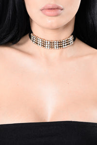 Only On Camera Choker - Gold
