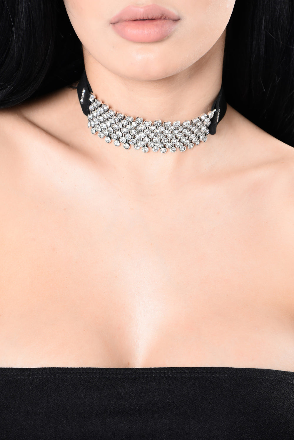 Classified Choker - Silver