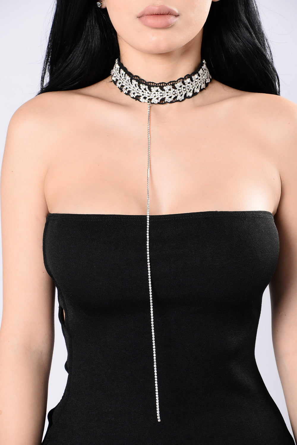 Shed Of Light Choker - Black/Silver