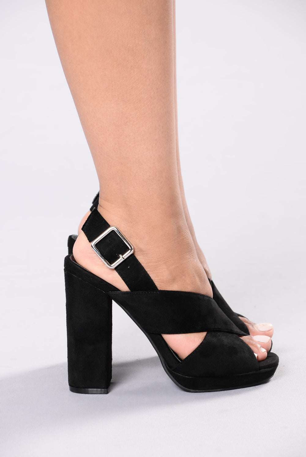 See What I Might Do Heel - Black
