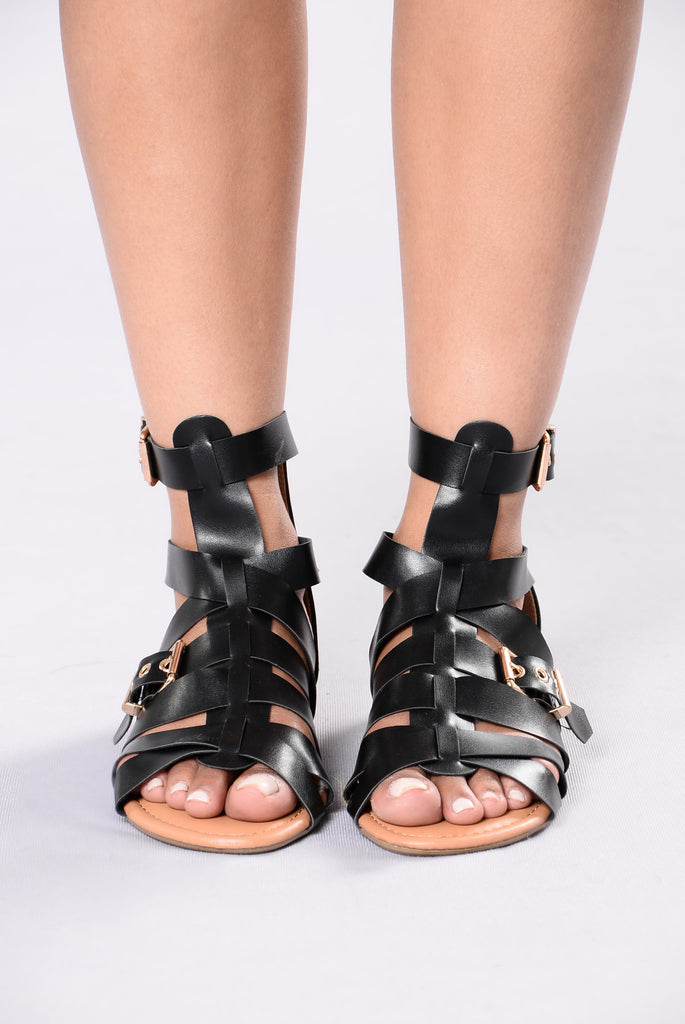 Chill Mood Sandal - Black