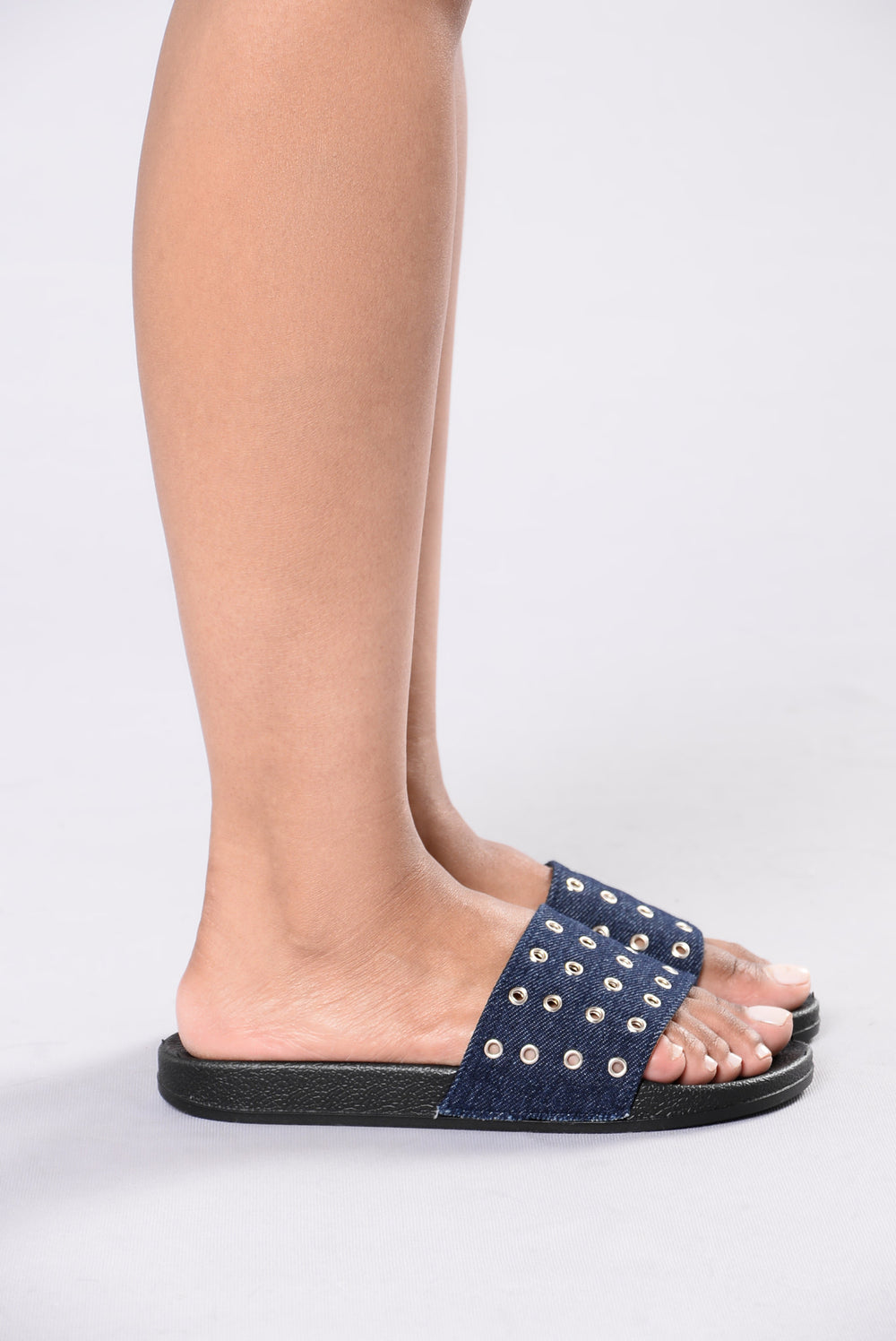 Holey Smokes Sandal - Denim