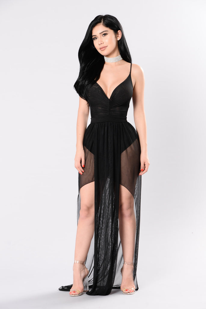 Taking Risks Dress - Black