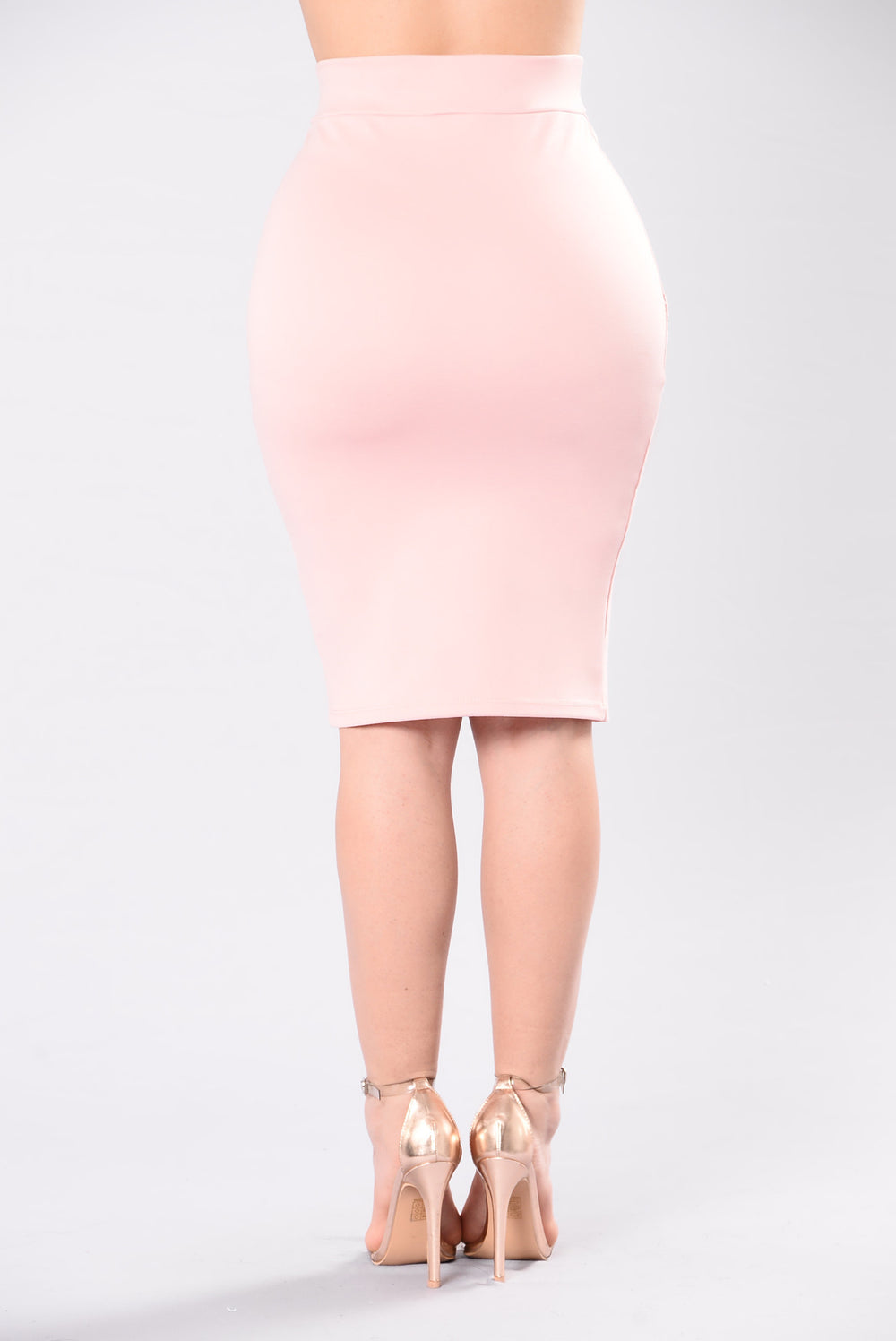 Blending With That Scene Skirt - Blush