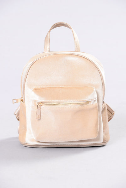 Forever Lover Backpack - Creme Brulee