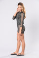 Island Getaway Cover Up Dress - Black