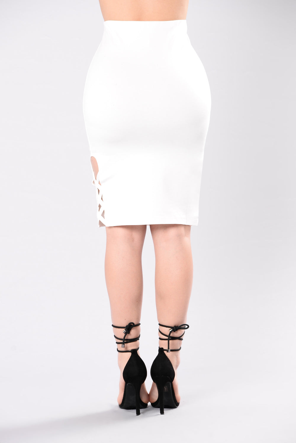 Maybe Now Skirt - White
