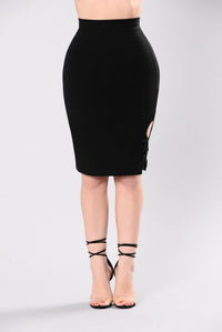 Maybe Now Skirt - Black