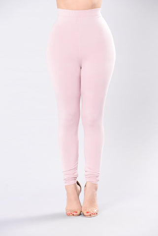 Come Get It Bae Legging - Pink