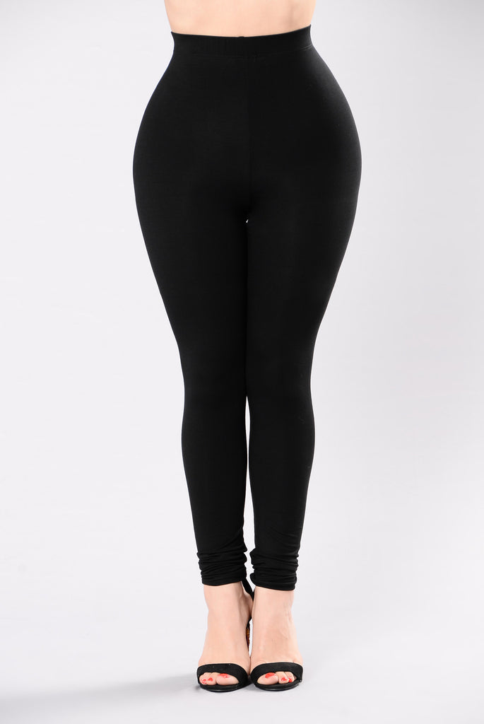 Come Get It Bae Leggings - Black