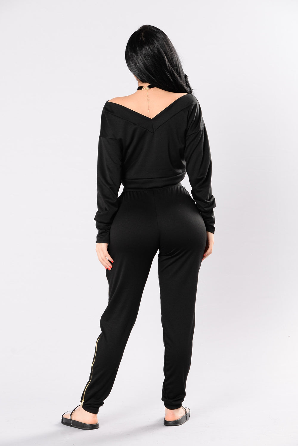 Casual Cool Top - Black