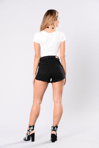 Don't Stop Me Now Shorts - Black