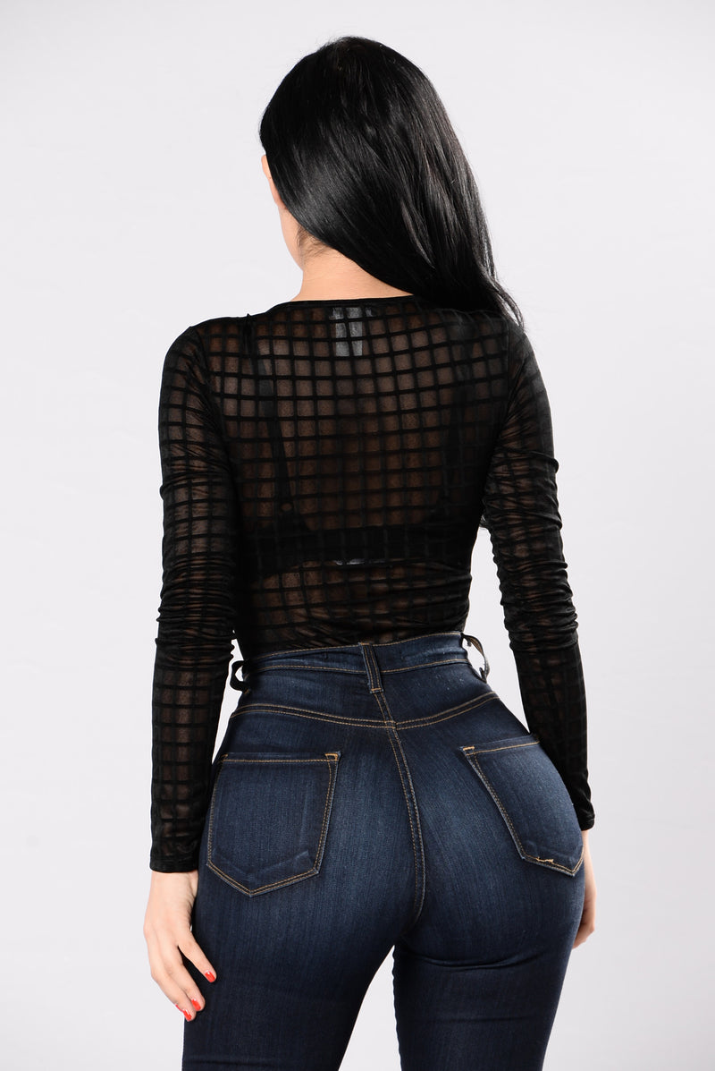 Money Honey Bodysuit - Black