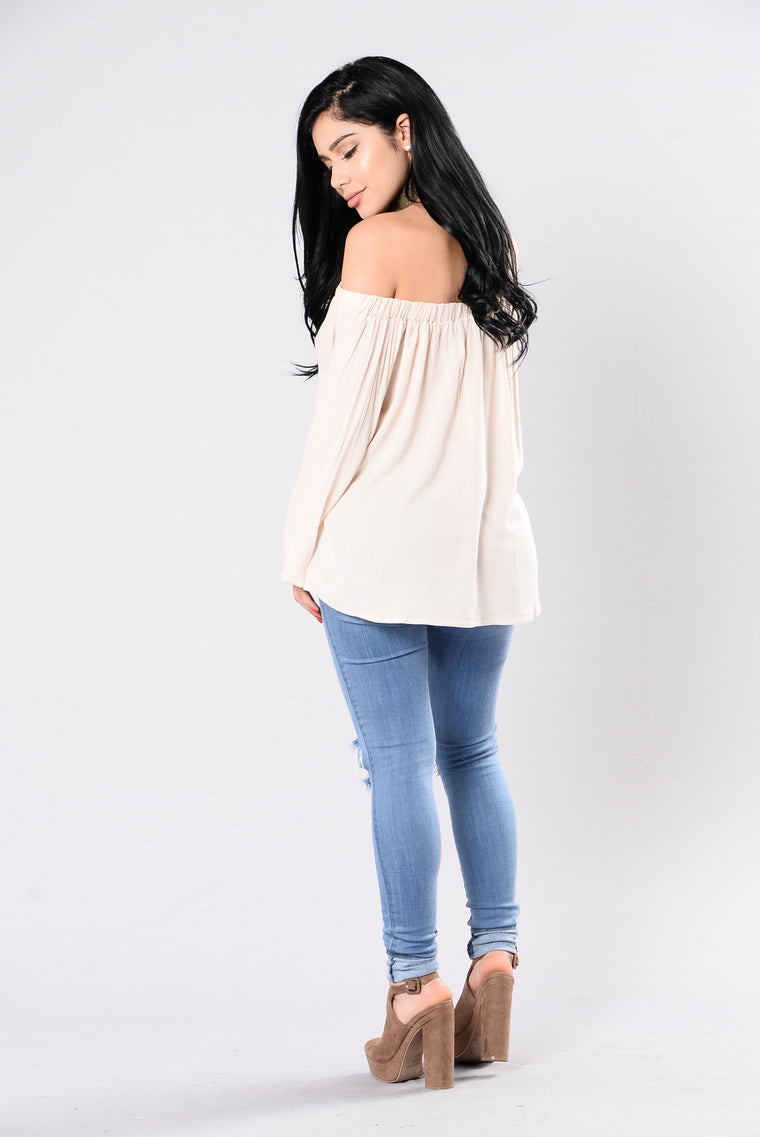 Willow Top - Beige
