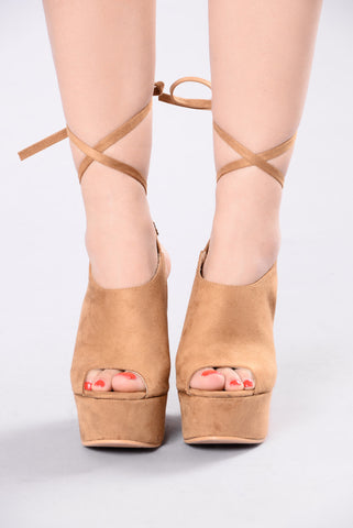 Ankle Angles Heel - Camel