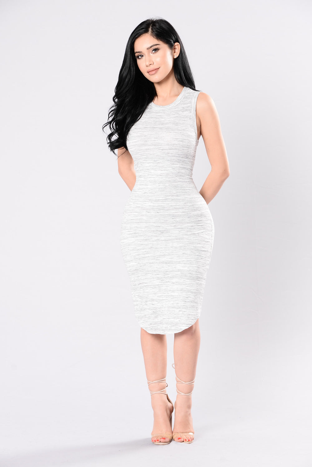 Lose Yourself Dress - Grey