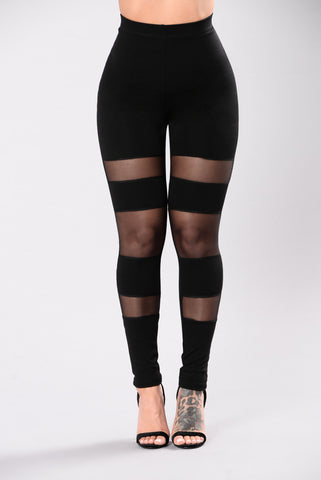 You Like It Leggings - Black