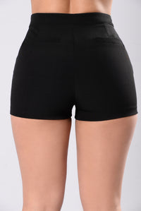 Got You Boo Shorts - Black