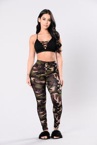 Tough Mother Leggings - Camo