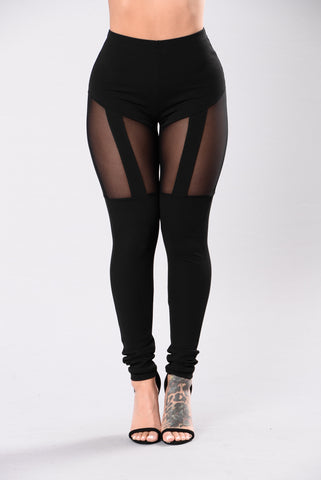 Tell Me More Legging - Black