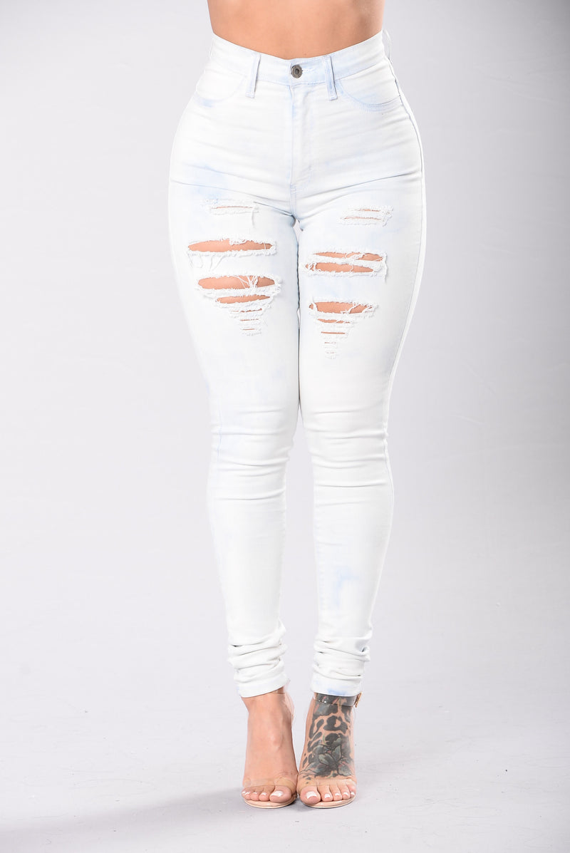 Clean Slate Jeans - Light Blue