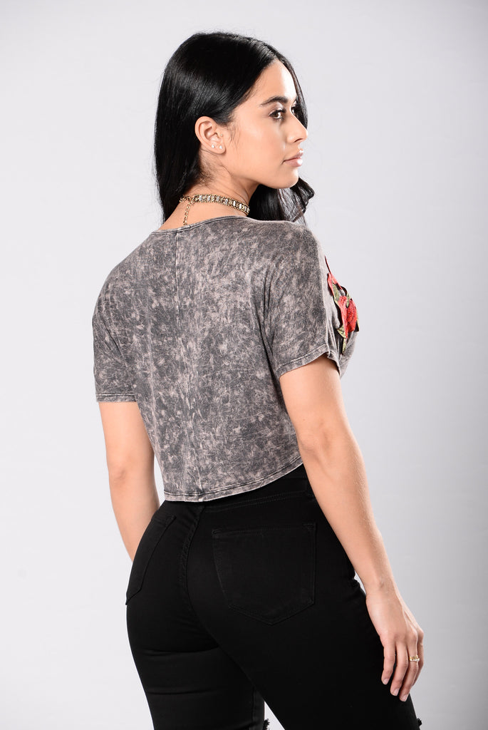 Soul Survivor Top - Charcoal