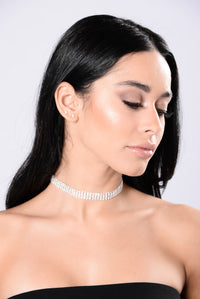 Better Than The Rest Choker - Silver