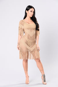 Lanai Cover Up Dress - Mocha