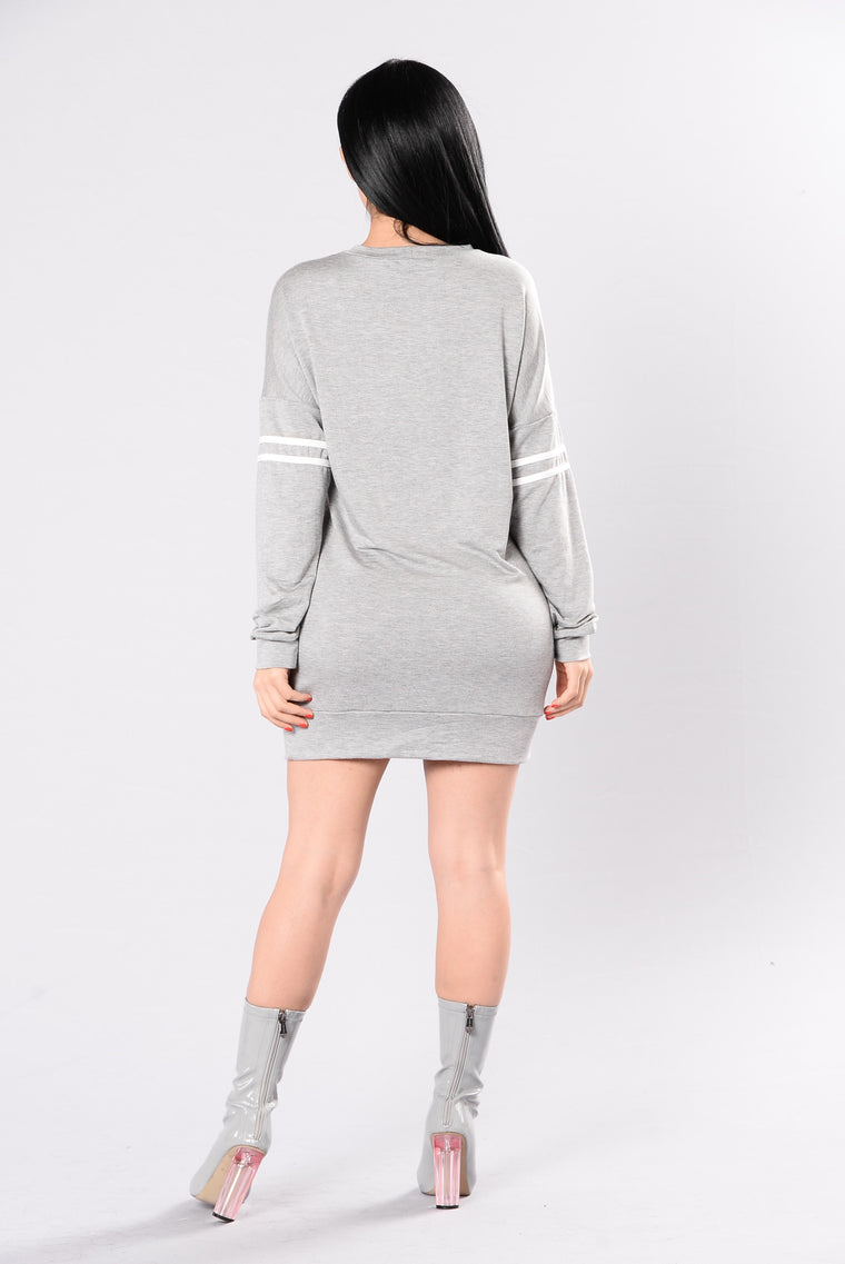 Tryna Function Top - Heather Grey