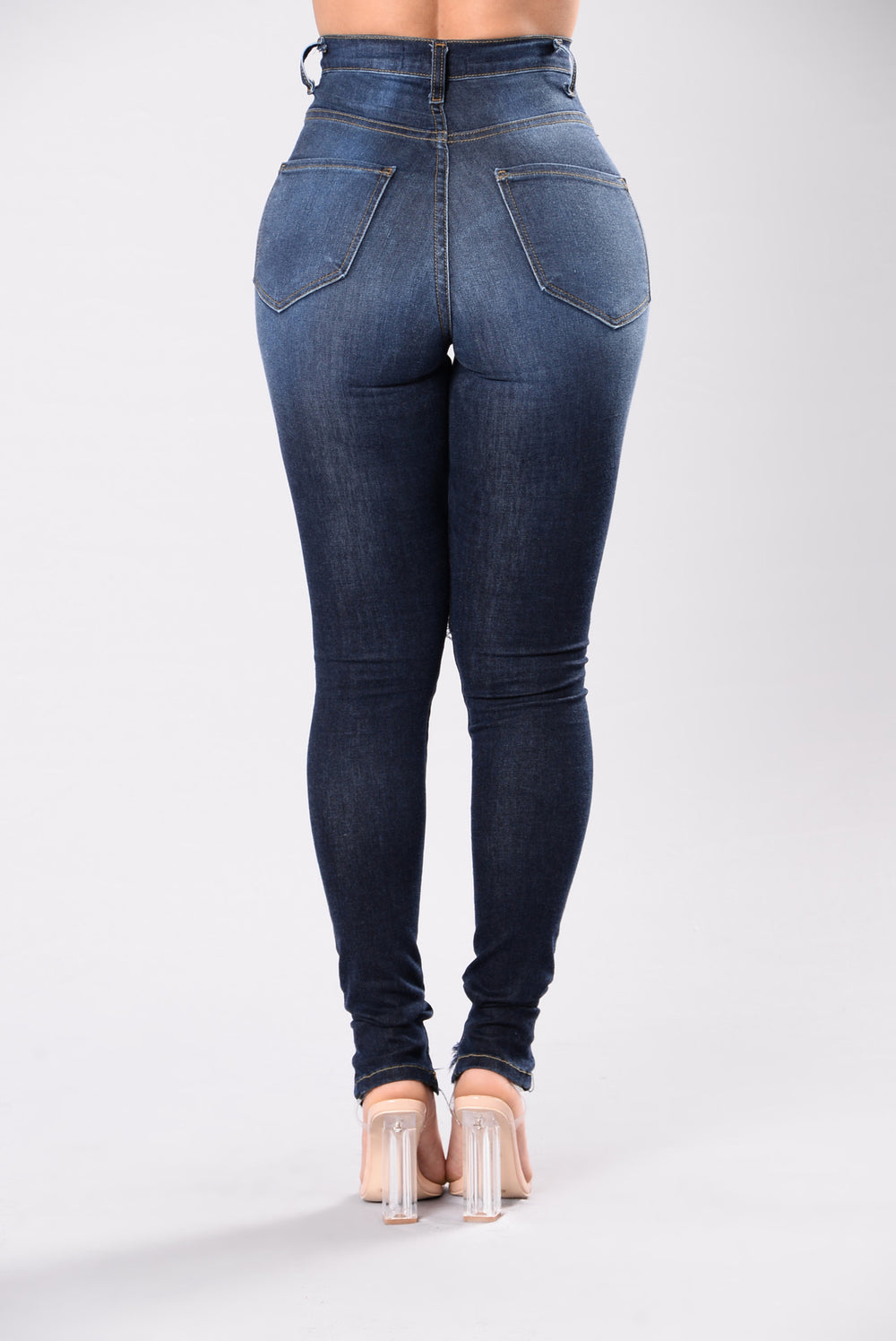 Little Details Jeans - Medium Blue