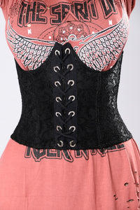 Just The Right Touch Corset Belt - Black